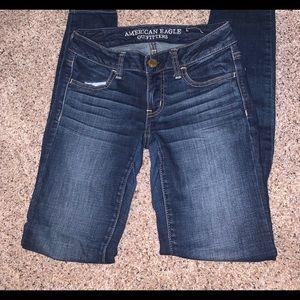 American Eagle Skinny Super Stretch Jeans Size 00